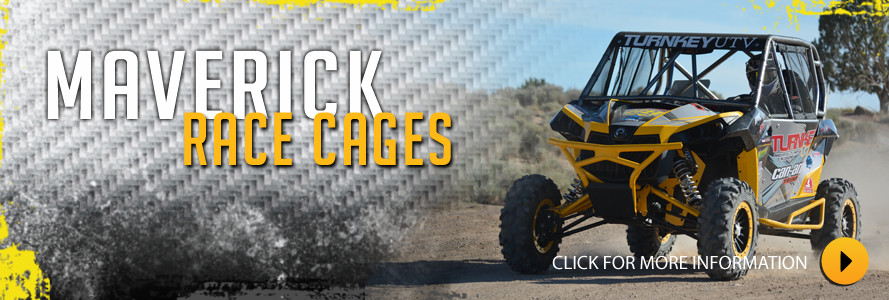 Can Am Maverick Race Cage